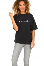 IRO    Sweater with logo print Courtny   black    Picture 4