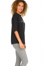 IRO    Sweater with logo print Courtny   black    Picture 5