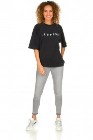IRO |  Sweater with logo print Courtny | black  | Picture 3