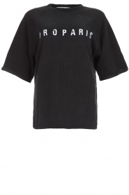 IRO    Sweater with logo print Courtny   black    Picture 1