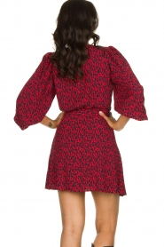IRO |  Leopard printed dress Boina | red  | Picture 5