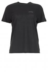 IRO |  T-shirt with logo print Loui | black  | Picture 1