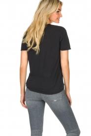 IRO |  T-shirt with logo print Loui | black  | Picture 5