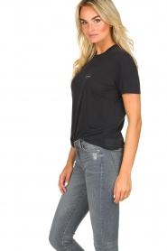 IRO |  T-shirt with logo print Loui | black  | Picture 4