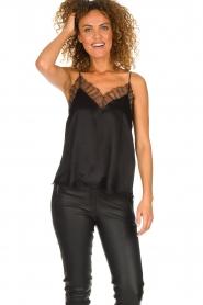 IRO |  Silk top Berwyn | black  | Picture 3
