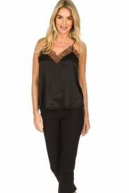 IRO |  Silk top Berwyn | black  | Picture 3