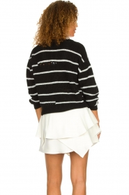 IRO |  Striped sweater Clymer | black & white  | Picture 5