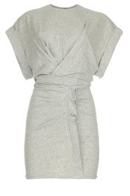 IRO |  Dress with drapings Wynot | grey  | Picture 1