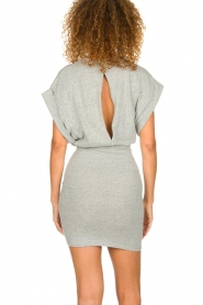 IRO |  Dress with drapings Wynot | grey  | Picture 6