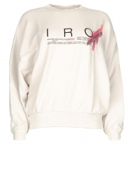 IRO |  Sweater with logo print Bigbo | natural  | Picture 1