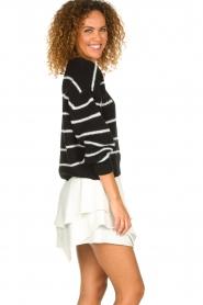 IRO |  Layered wrap skirt Capred | white  | Picture 4