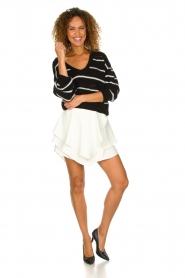 IRO |  Layered wrap skirt Capred | white  | Picture 3