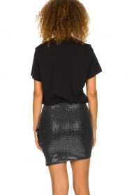 IRO |  Glitter skirt Lillie | black  | Picture 5