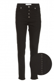 IRO |  Studded skinny jeans Gaetus | black  | Picture 1