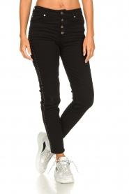 IRO |  Studded skinny jeans Gaetus | black  | Picture 3