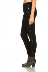 IRO |  Studded skinny jeans Gaetus | black  | Picture 4