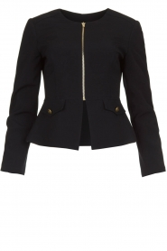 Kocca |  Tailored jacket Ponza | black  | Picture 1