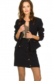 Kocca |  Tailored jacket Ponza | black  | Picture 4