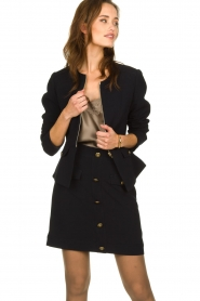 Kocca |  Tailored jacket Ponza | black  | Picture 2