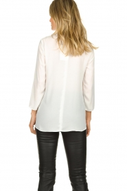 Kocca |  Asymmetric blouse Dominga  | white  | Picture 5
