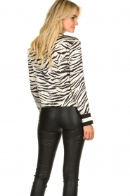 Kocca |  Zebraprint blouse Parsyf | animal print  | Picture 8