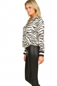Kocca |  Zebraprint blouse Parsyf | animal print  | Picture 7
