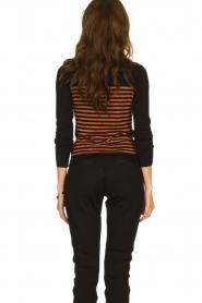 Kocca |  Striped glitter sweater Luk | camel  | Picture 6