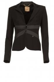 Kocca |  Fitted blazer Citron | black  | Picture 1