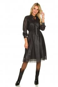 Kocca    Shiny dress Bess   black    Picture 3