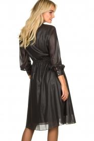 Kocca    Shiny dress Bess   black    Picture 6