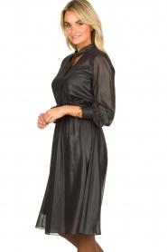 Kocca    Shiny dress Bess   black    Picture 5
