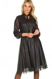 Kocca    Shiny dress Bess   black    Picture 2