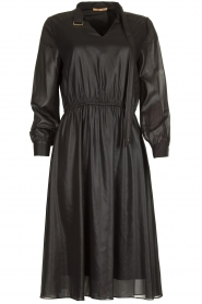 Kocca    Shiny dress Bess   black    Picture 1