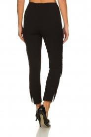 Kocca |  Fringe pants Label | black  | Picture 5