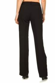 Kocca :  Trousers with shimmering stripes Cland | black - img5