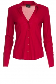 Atos Lombardini | Blouse Betty | red  | Picture 1