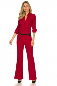 Atos Lombardini | Blouse Betty | red  | Picture 3