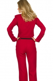 Atos Lombardini | Blouse Betty | red  | Picture 6