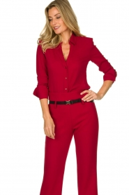Atos Lombardini | Blouse Betty | red  | Picture 2
