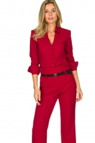 Atos Lombardini | Blouse Betty | red  | Picture 4