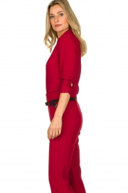Atos Lombardini | Blouse Betty | red  | Picture 5