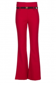 Atos Lombardini |  Flared trousers Rocky | red  | Picture 1