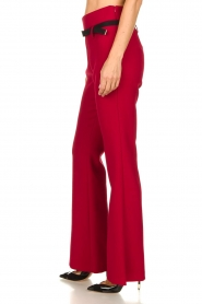 Atos Lombardini |  Flared trousers Rocky | red  | Picture 4