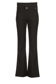 Atos Lombardini |  Flared trousers Rocky | black  | Picture 1