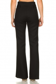 Atos Lombardini |  Flared trousers Rocky | black  | Picture 6