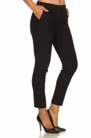 Atos Lombardini |  Classic trousers Rosy | black  | Picture 4
