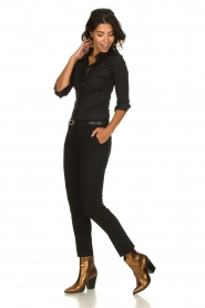 Atos Lombardini |  Classic trousers Rosy | black  | Picture 6