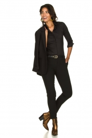 Atos Lombardini |  Classic trousers Rosy | black  | Picture 3