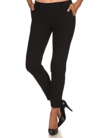Atos Lombardini |  Classic trousers Rosy | black  | Picture 2
