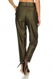 Atos Lombardini |  Glitter pants Ellen | metallic  | Picture 5